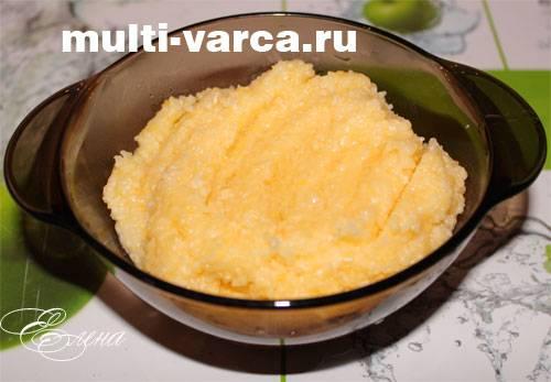 Каша кукурузная в мультиварке на молоке рецепт