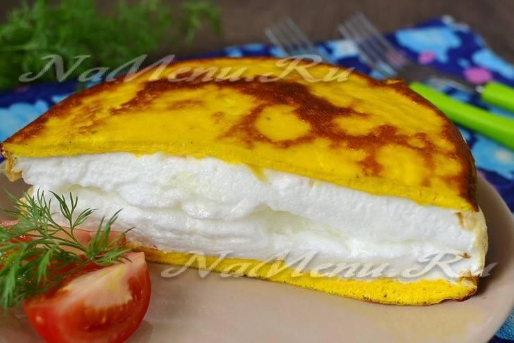 Французский омлет Пуляр - самый идеальный завтрак