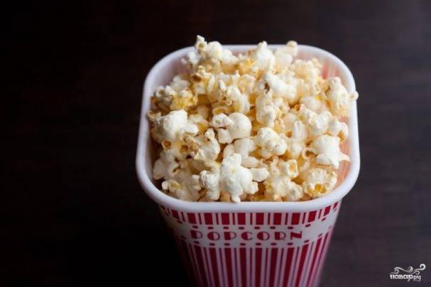 Как делать попкорн в микроволновке в домашних условиях