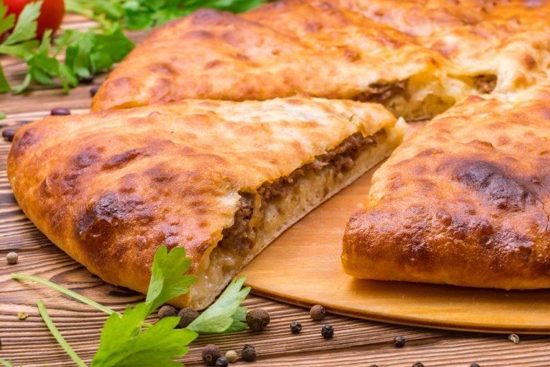Осетинские пироги с зеленью и сыром рецепт