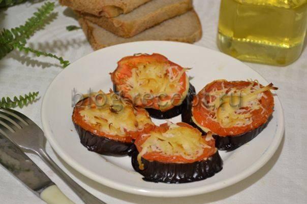 Как вкусно приготовить баклажаны с помидорами