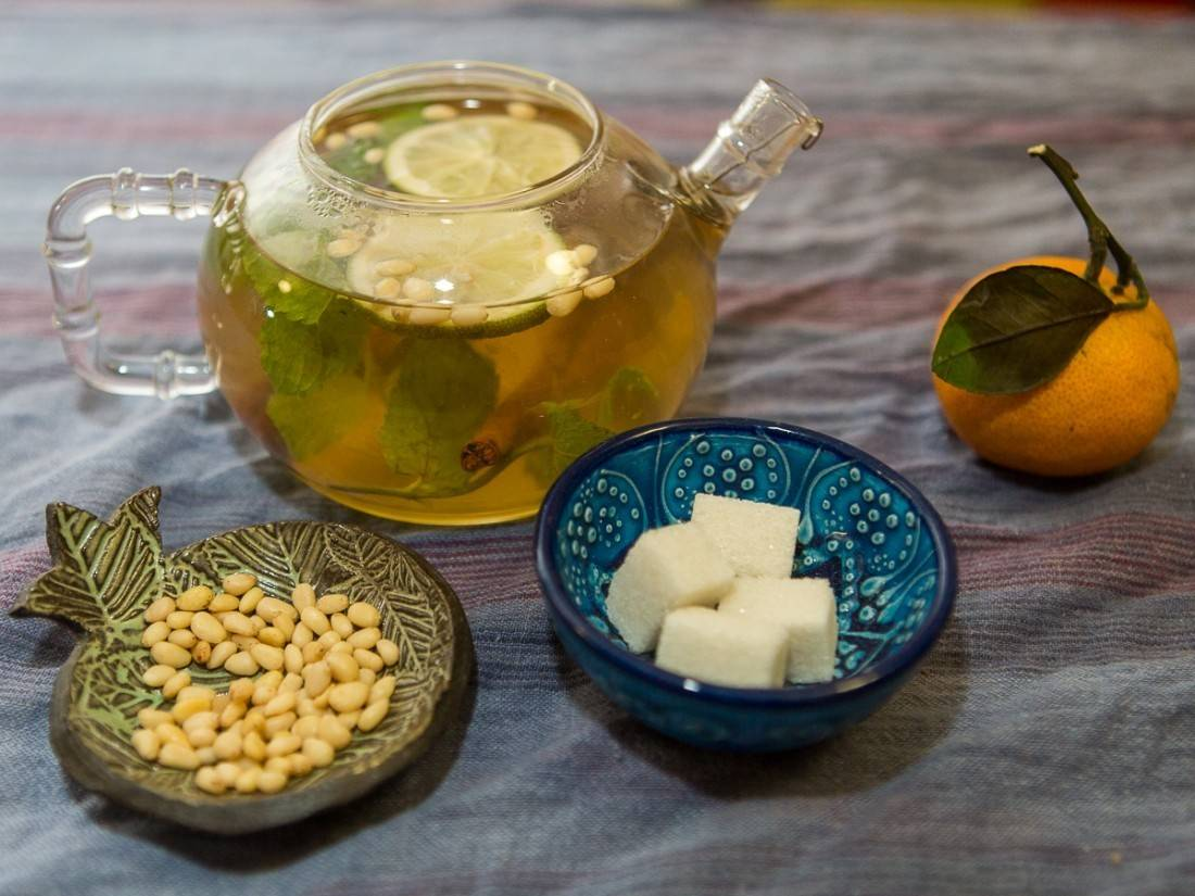 Химический состав чая, что содержится в чае