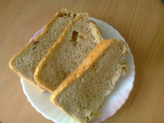 Хлеб медовый с орехами в хлебопечке