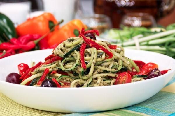 Паста с кабачками: рецепты