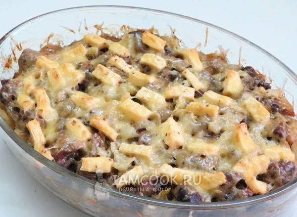 Куриная печень в сливочном соусе со шпинатом - 11 пошаговых фото в рецепте