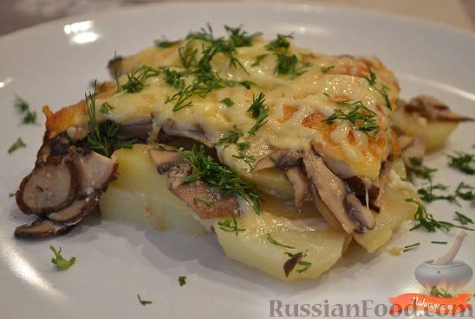 Картофельная запеканка по-швейцарски