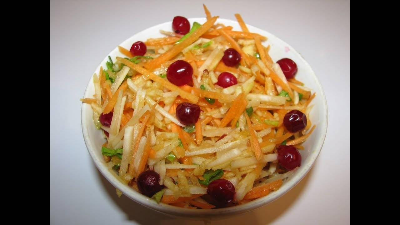 Рецепты салатов из топинамбура
