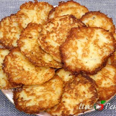 Драники картофельные рецепт классический с сыром