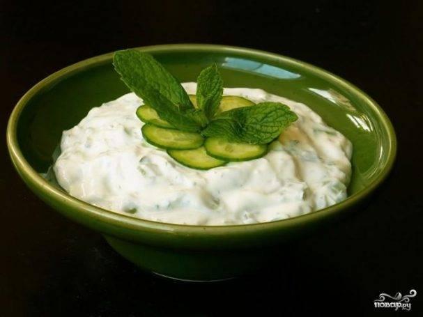 Йогуртовый соус для салата