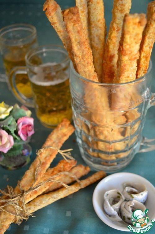Гренки с чесноком отличная закуска к пиву