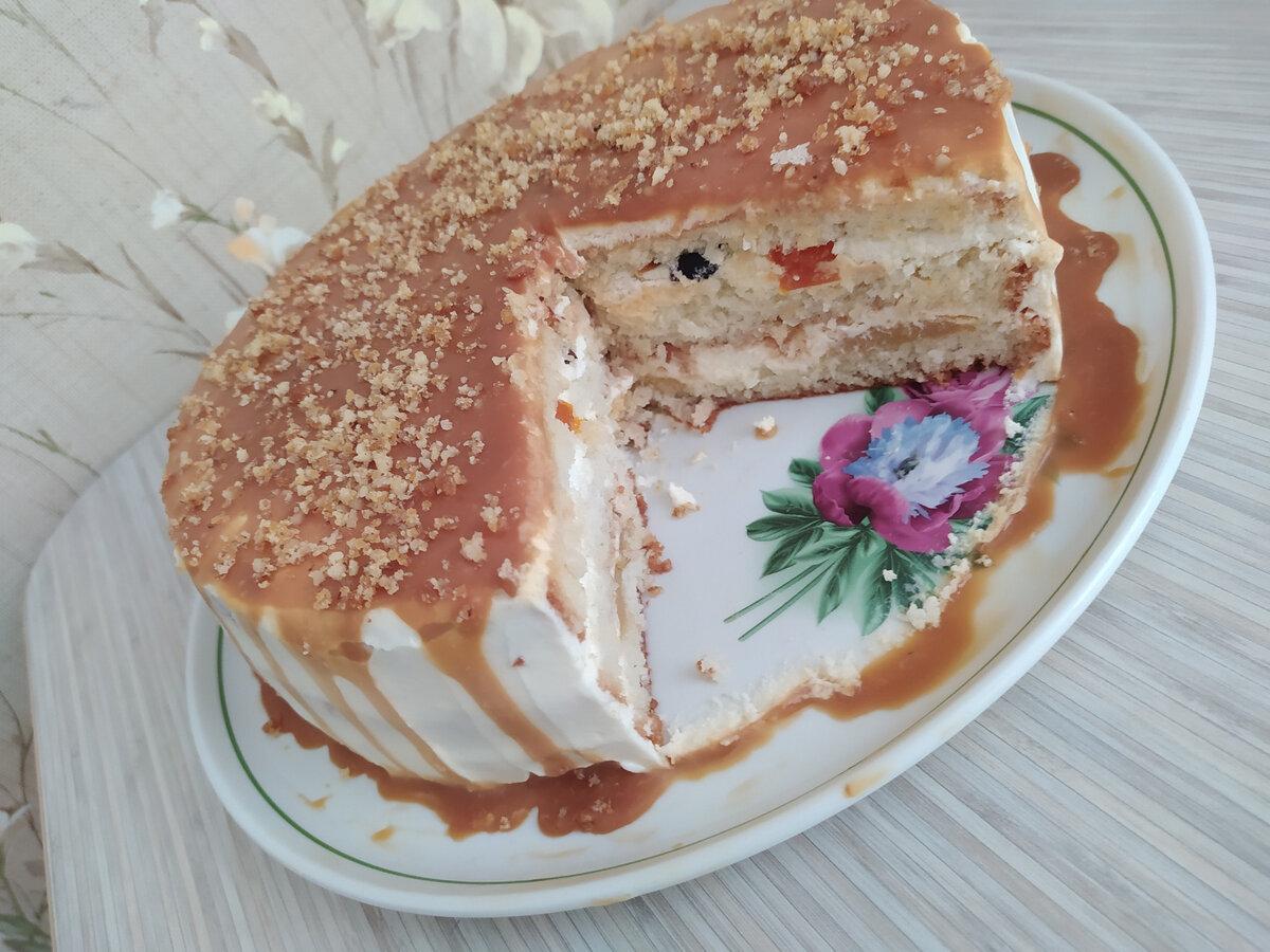 """Торт """"карамельный"""""""