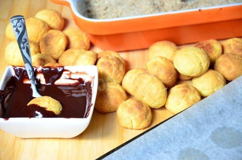 Печенье из каштанов - рецепт с фото