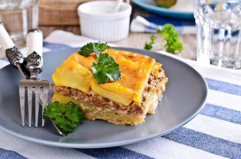 Запеканка с сыром в духовке  как приготовить с картошкой, чесноком и зеленью
