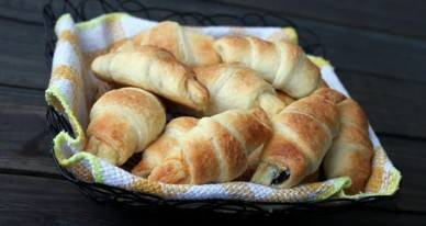 Сливочные круассаны - рецепт с фотографиями - patee. рецепты